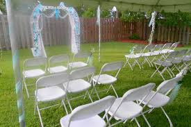 Image Of Backyard Wedding Ideas For Summer