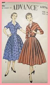 Powered By Wikia Mccallus Vintage 50s Dress Patterns Sewing Fandom Retro S Pattern