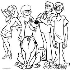 Scooby Doo Coloring Pages Best
