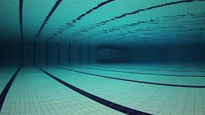 Visually Similar Footage Hd0009Empty Olympic Swimming Pool Underwater