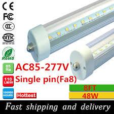 aliexpress buy 8 led 8ft single pin t8 fa8 single pin
