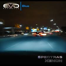 93387 evo formance spectras xenon h11 blue halogen bulbs
