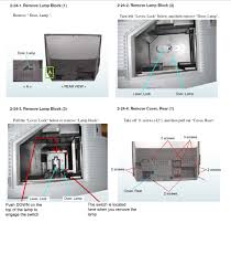 Sony Xl 5200 Lamp Replacement Instructions by Sony Rear Projection Tv Lamp Szfpbgj Com
