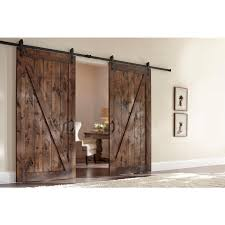 Double Barn Door Hardware Home Depot : Barn Door Hardware Home ... Pacific Entries 36 In X 84 Rustic Unfinished 2panel Right Steves Sons 24 90 Tuscan Ii Stained Hardwood Interior Doors Durable Everbilt Sliding Door Hdware Rebeccaalbrightcom Truporte 18 Pine Duplex Mdf Barn With Rustica 42 Mountain Modern Aqua Wood Bypassing Hook Strap Black Rolling Kit 5 30 Solid Core Masonite Riverside Primed Panel Equal 60 Closet The Home Depot I97 For Your Trend Design Ideas Pinecroft 38 81 Timber Hill
