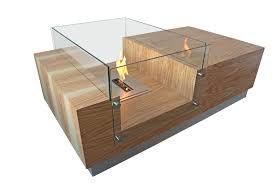 wohnzimmertisch mit eingebauten kamin kamin einbauen
