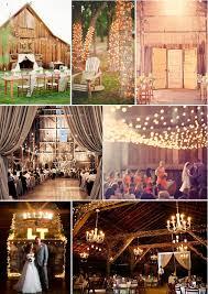 Rustic Barn Wedding Decorations