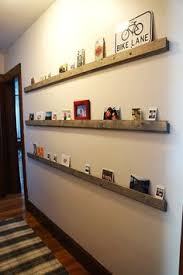 Fun Low Profile Hallway Shelves For Cards Photos Etc I Can Collect Stuff