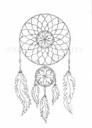 Dream Catcher Printable Coloring Page