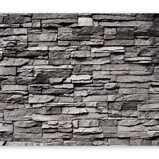 murando fototapete selbstklebend steinwand 49x35 cm tapete