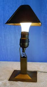 Underwriters Laboratories Lamp Brass by Lightaccents Metal Bankers Desk Lamp Glass Shade Brass Brass