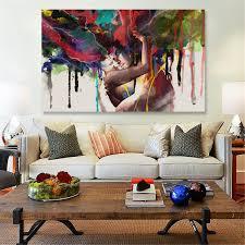 HD Canvas Print Modern Scenery Animal Wall Art Oil Painting Home