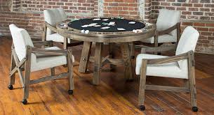 Table And Chair Game LOFT REVERSIBLE TOP GAME TABLE