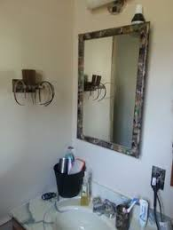 Camo Bathroom Decor Ideas by Mixing