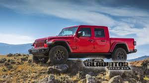 100 Motor Trend Truck Of The Year History 2020 Jeep Gladiator Pickup Leaked Photos Surface Online