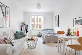 Enchanting White Studio Apartment | IFresh Design Apartment Kitchen Decorating Ideas Tinderbooztcom 9 Smallspace To Steal From A Tiny Paris Living Room Design L The Janeti Small Ding And Best 25 Loft Apartments Ideas On Pinterest Furnishing Apartments Easy Way Village Confidential 4 Showcase Flexibility Of Compact Apartment 250sqft Studio Httpaatiguerrawordpresscom20100903ikea Ravishing Studio With Clever Efficient In Warsaw Tasteful Simple Decor Idesignarch
