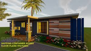 100 Shipping Container Homes Floor Plans HOMES PLANS And MODULAR PREFAB Design Ideas SHELTABOX 960