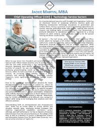 Professinal Executive Biography Sample Bio Professional C Level