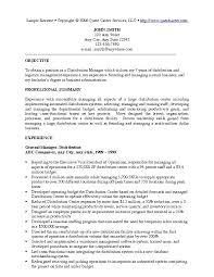 Sample Resume Example 1