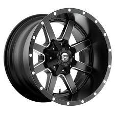 Fuel Wheels Maverick Wheels | Multi-Spoke Machined Truck Wheels ...