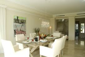 White Modern Dining Room Dining Room Decorating Ideas Lonny