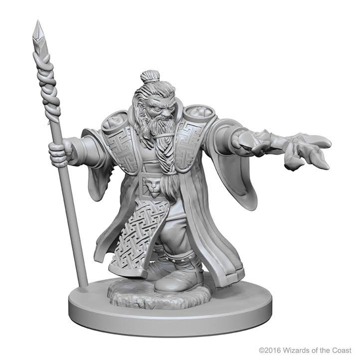 Dungeons & Dragons: Nolzur's Marvelous Unpainted Minis: Dwarf Male Wizard