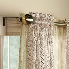 Allen Roth Curtain Rod Instructions by Dream House Using Curved Curtain Rods For Windows Terrific