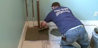 Laying Tile On Cement Backer Board Over A Plywood Subfloor