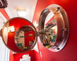 medicine cabinet remarkable porthole mirrored medicine cabinet