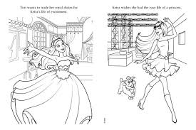 Princess And The Popstar Coloring Page