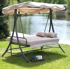 Patio Swings With Canopy Replacement by Outdoor Patio Swing With Canopy Cioccolatadivino Com