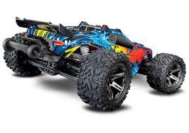 Traxxas Rustler 4X4 VXL Brushless RTR 1/10 4WD Stadium Truck W/TQi ...