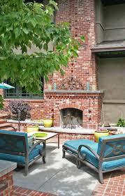 Built In Brick Outside Fireplace Designs Best Outside Fireplace