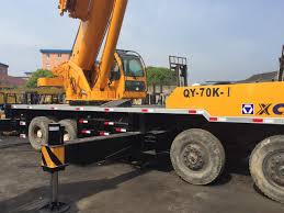 China XCMG 70 Ton Truck Mounted Crane, Used XCMG Truck Crane, Used ...
