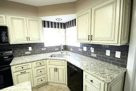 Off White Kitchen Cabinets For Large Size Of Custom Black