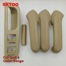 poignee de porte interieur golf 4 sktoo 5 pcs beige intérieure poignée de porte livraison gratuite