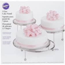 Wilton Cakes N More 3 Tier Party Cake Stand