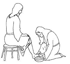 Jesus Washing The Feet Of