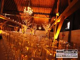 Rob Albertis Event Services Supplies Lighting For Barn Weddings