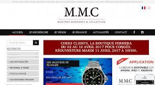 montre moderne et collection mmc montres modernes de collection collections diverses