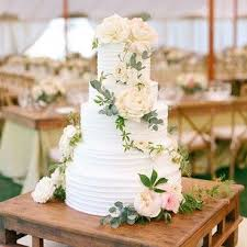 Cette Cascade De Fleurs White Wedding CakesFloral CakesFlowers