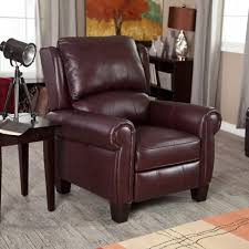 Affordable Ergonomic Living Room Chairs by Chairs Fjords Regent Recliner Chair Hassel Leather Club