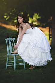 Best Country Wedding Dress with Boots
