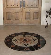 Marble Flooring Especially Ideal For Homes In The Tropical Regions Circular Pattern As Seen Can Be Used Main Deco Element Base Design
