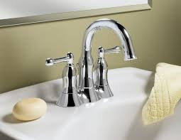 Moen Bathroom Sink Faucets Menards by Bathroom Faucets Design With A Beautiful Crystal Home Design