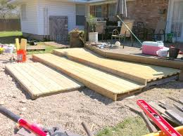 How To Make A Platform Bed From Wooden Pallets by Remodelaholic Build A Wooden Pallet Deck For Under 300