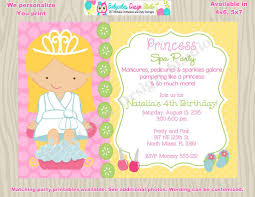 Spa Birthday Party Invitation Template Inspirational Pamper