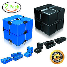 Infinity Cube Fidget Toy For Adults Kids Relieve Stress Anxiety Cool Hand