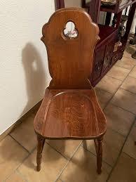 tischgarnitur esszimmer tisch 4 stühle massivholz