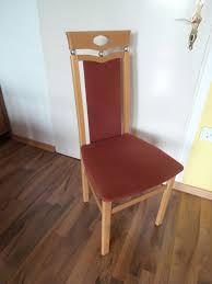 4 stühle esszimmer küche buche polster
