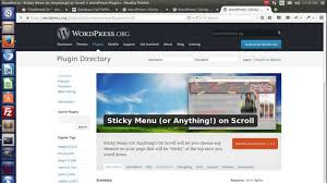 Installation & Configuration Of Sticky Menu Or Anything On Scroll ... Sharepoint 2013 Page Top Topbar Plugin Interior Floating Bar Lawrahetcom Documentation For Be Wordpress Theme Created By Muffin Group Oceanwp Review A Free With Premium Features Wpcolt Moving The Below Logo Image In Redwood Solo Pine Visual Composer Exteions Addon Tekanewa Codecanyon Ticksy Prting Hemlock Responsive Blog Translatepress Build Your Next Multilingual Site Minutes Side Bar And Top Menu Items Are Missing When Using Chrome 28 Images Ews Review Honest Html By Plugin Html5
